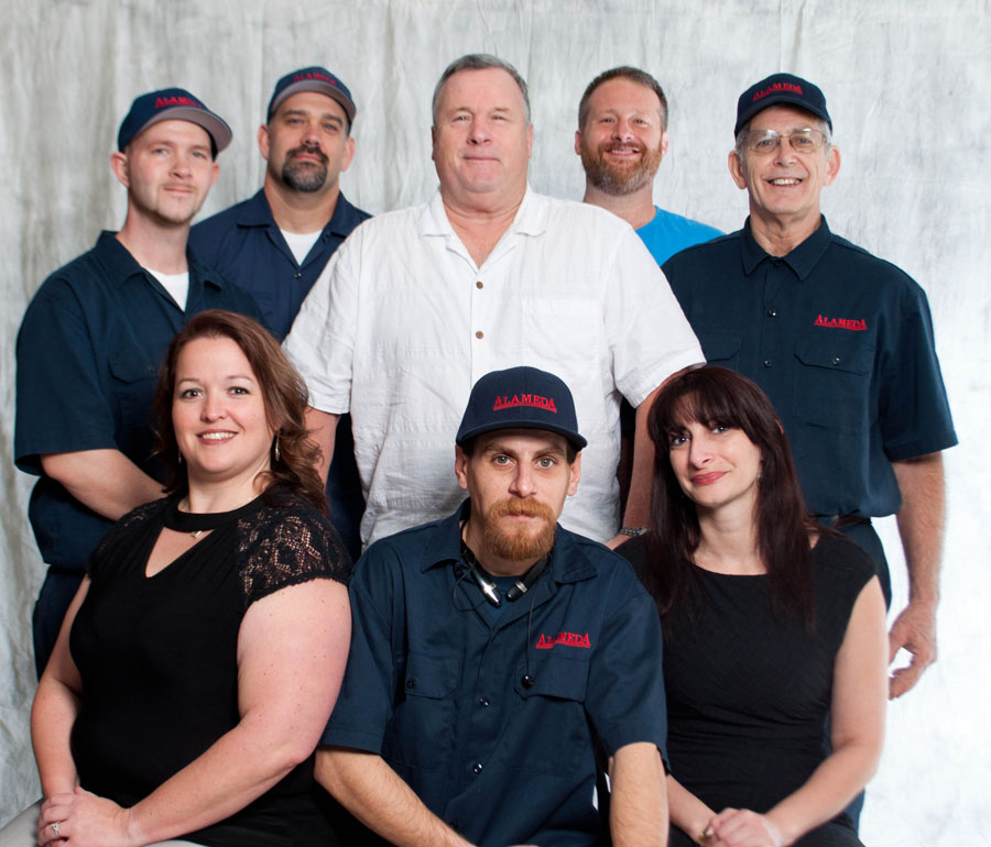 The Alameda Cleaners team is ready to help you.